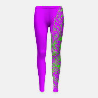 Thumbnail image of Sleeve Strong Girl's leggings, Live Heroes