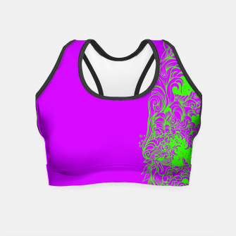 Thumbnail image of Sleeve Strong Crop Top, Live Heroes