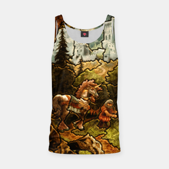 Thumbnail image of Rampart Heroes 3 puzzle map  Tank Top, Live Heroes