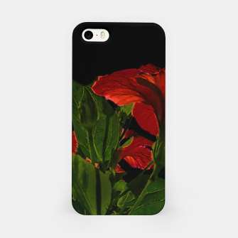 Thumbnail image of Dark Floral Photo Illustration iPhone Case, Live Heroes