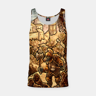 Miniaturka stronghold heroes 3 puzzle map Tank Top, Live Heroes