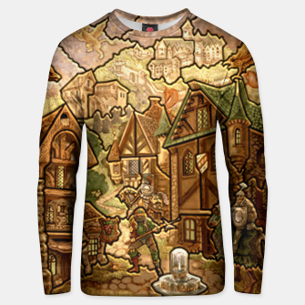 Thumbnail image of castle heroes 3 puzzle map Bluza unisex, Live Heroes