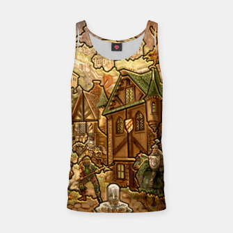Thumbnail image of castle heroes 3 puzzle map Tank Top, Live Heroes