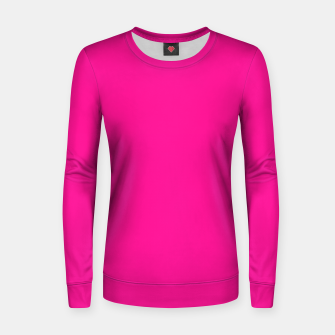 Thumbnail image of color deep pink Women sweater, Live Heroes