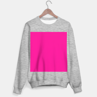Thumbnail image of color deep pink Sweater regular, Live Heroes