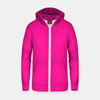 Thumbnail image of color deep pink Zip up hoodie, Live Heroes