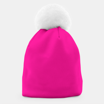 Thumbnail image of color deep pink Beanie, Live Heroes