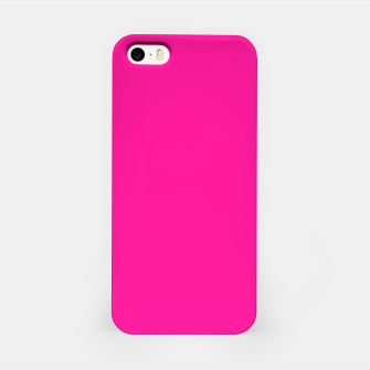 Thumbnail image of color deep pink iPhone Case, Live Heroes