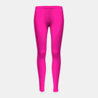 Thumbnail image of color deep pink Girl's leggings, Live Heroes