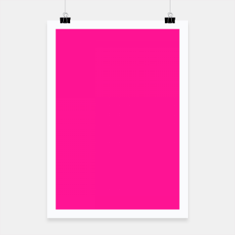 Thumbnail image of color deep pink Poster, Live Heroes