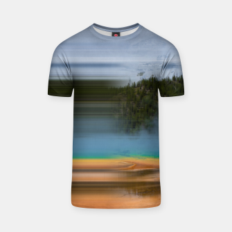 Miniatur Grand Prismatic Glitch T-shirt, Live Heroes