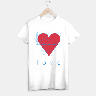 Thumbnail image of love T-shirt regular, Live Heroes