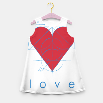 Thumbnail image of love Girl's summer dress, Live Heroes
