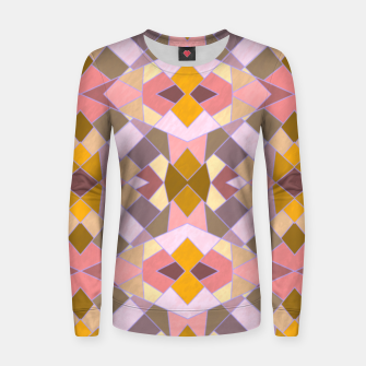 Thumbnail image of Cristal Texture pink Women sweater, Live Heroes