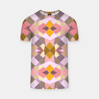 Thumbnail image of Cristal Texture pink T-shirt, Live Heroes