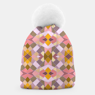 Thumbnail image of Cristal Texture pink Beanie, Live Heroes