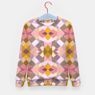 Thumbnail image of Cristal Texture pink Kid's sweater, Live Heroes