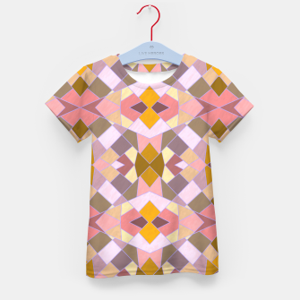Thumbnail image of Cristal Texture pink Kid's t-shirt, Live Heroes