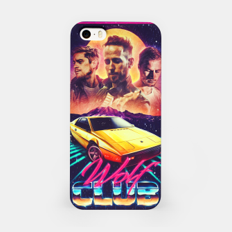 Thumbnail image of W O L F C L U B Album art iPhone Case, Live Heroes