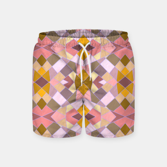 Thumbnail image of Cristal Texture pink Swim Shorts, Live Heroes