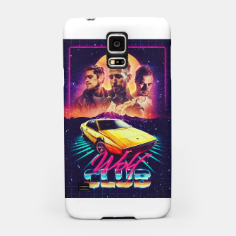Thumbnail image of W O L F C L U B Album art Samsung Case, Live Heroes