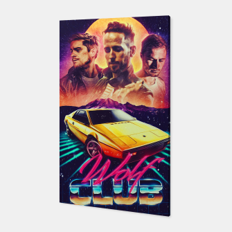 Thumbnail image of W O L F C L U B Album art Canvas, Live Heroes