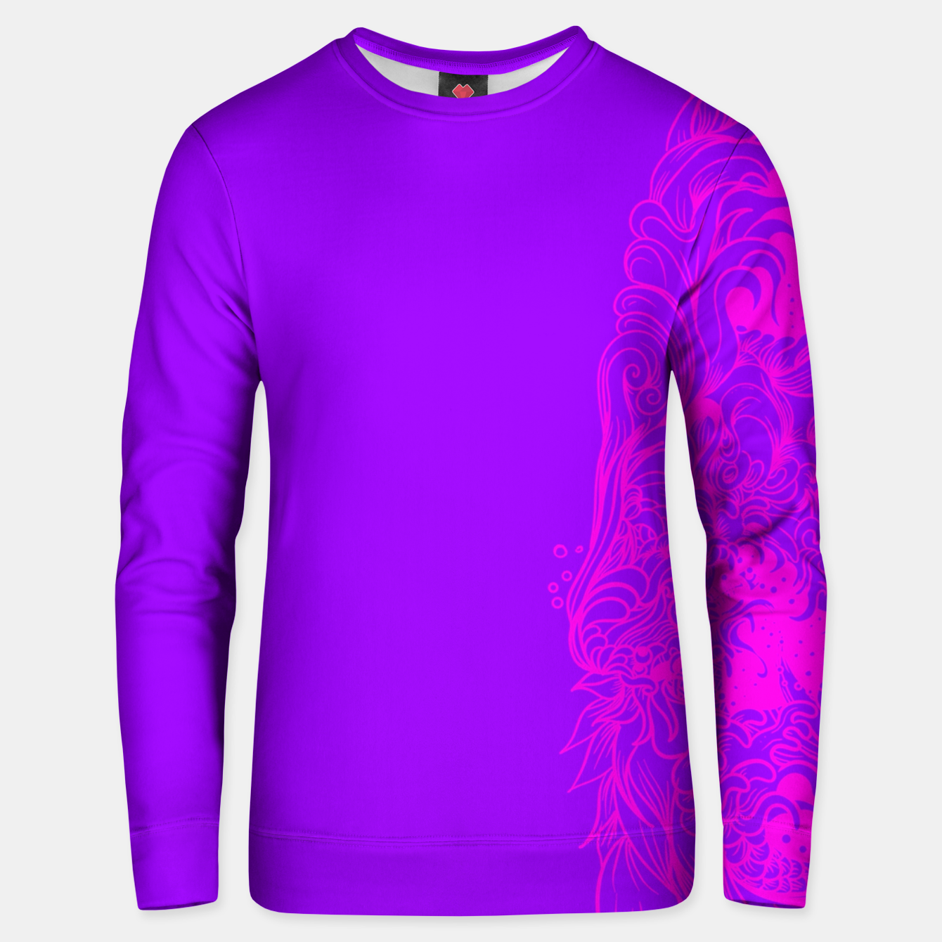 Image of Sleeve PP Unisex sweater - Live Heroes