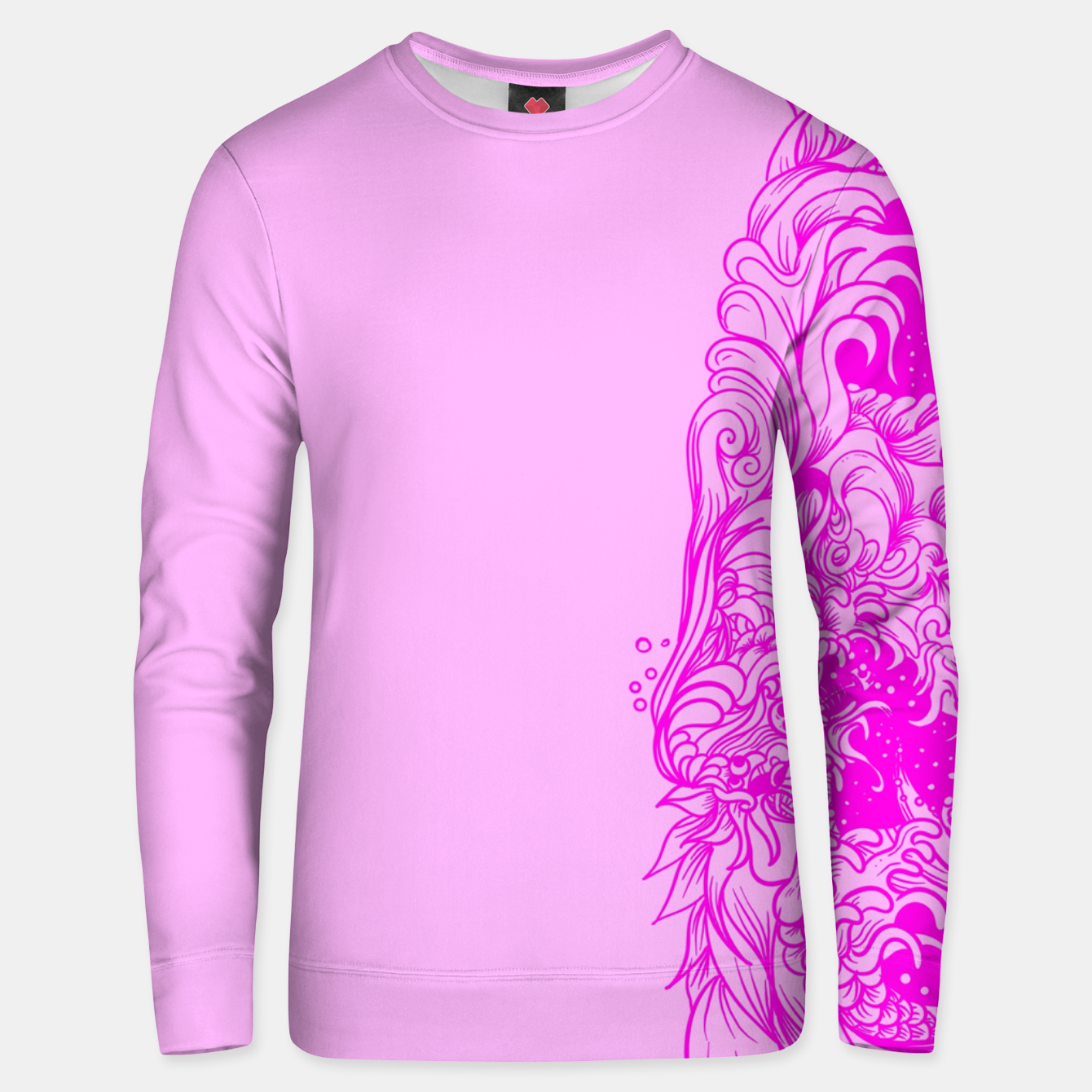 Image of Sleeve Pink Unisex sweater - Live Heroes
