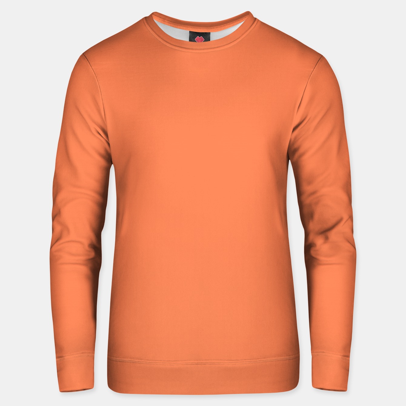 Image of color coral Unisex sweater - Live Heroes