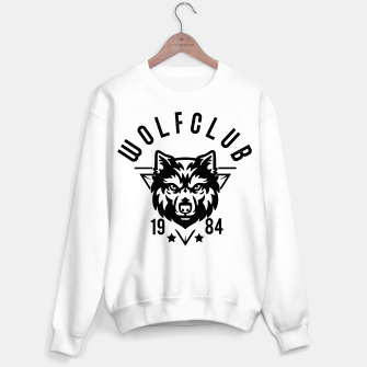 Thumbnail image of W O L F C L U B College Logo Sweater regular, Live Heroes