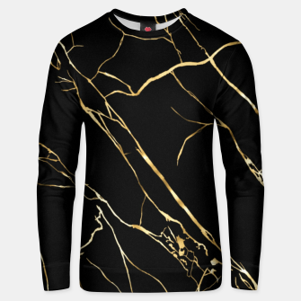 Thumbnail image of Gold black Unisex sweater, Live Heroes