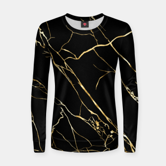 Thumbnail image of Gold black Women sweater, Live Heroes