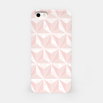 Miniatur Pink geometric  iPhone Case, Live Heroes