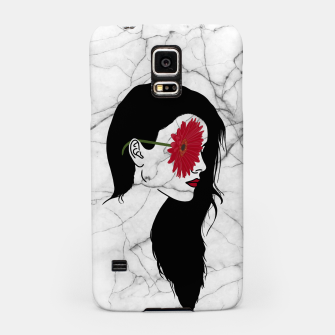 Thumbnail image of Aesthetic girl Samsung Case, Live Heroes