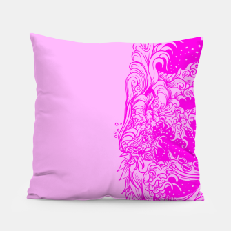 Miniatur Sleeve Pink Pillow, Live Heroes