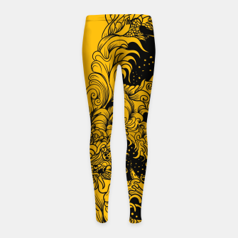 Miniatur Sleeve YB Girl's leggings, Live Heroes
