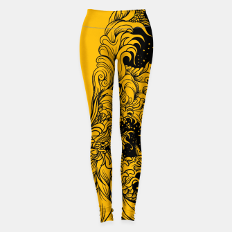 Thumbnail image of Sleeve YB Leggings, Live Heroes
