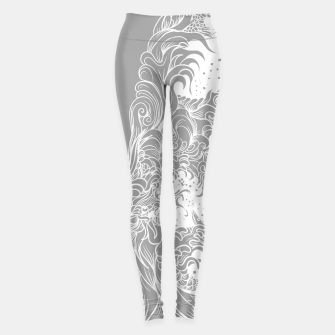 Miniatur Sleeve Grey Leggings, Live Heroes
