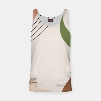 Miniature de image de Tropical Minimal Abstract #1 #wall #decor #art Muskelshirt , Live Heroes