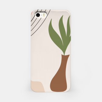 Miniaturka Tropical Minimal Abstract #1 #wall #decor #art iPhone-Hülle, Live Heroes