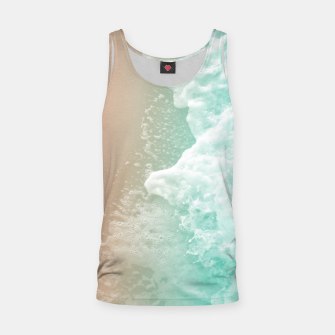 Thumbnail image of Soft Emerald Beige Ocean Beauty #1 #wall #decor #art Muskelshirt , Live Heroes