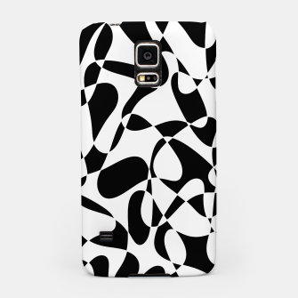 Abstract pattern - black and white. Samsung Case thumbnail image