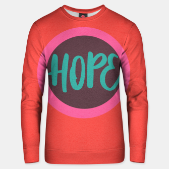 Thumbnail image of hope Unisex sweater, Live Heroes