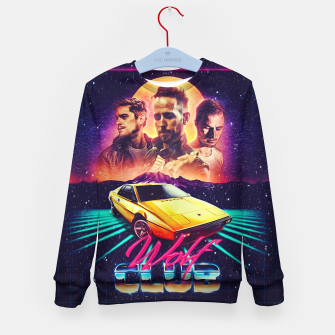 Thumbnail image of W O L F C L U B All over Kid's sweater, Live Heroes