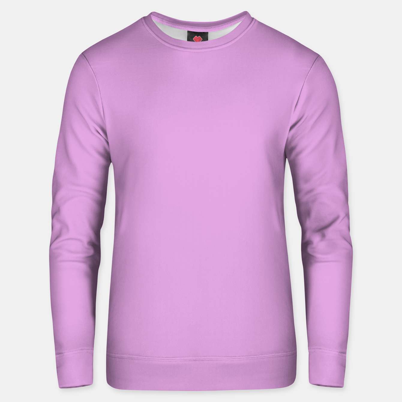 Image of color plum Unisex sweater - Live Heroes