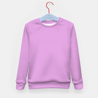 color plum Kid's sweater thumbnail image