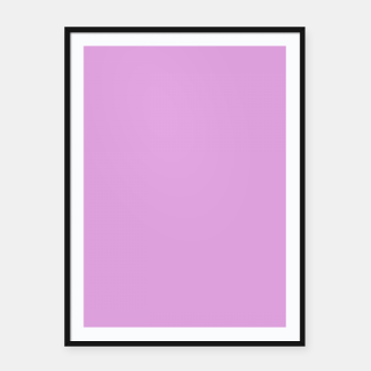 color plum Framed poster thumbnail image