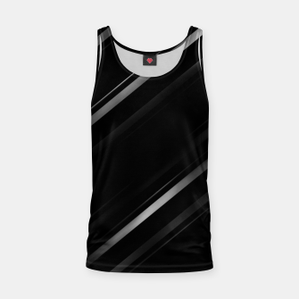 Thumbnail image of Minimalist Black Linear Abstract Print Tank Top, Live Heroes