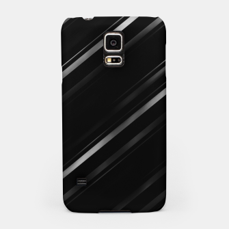 Thumbnail image of Minimalist Black Linear Abstract Print Samsung Case, Live Heroes
