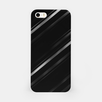 Thumbnail image of Minimalist Black Linear Abstract Print iPhone Case, Live Heroes